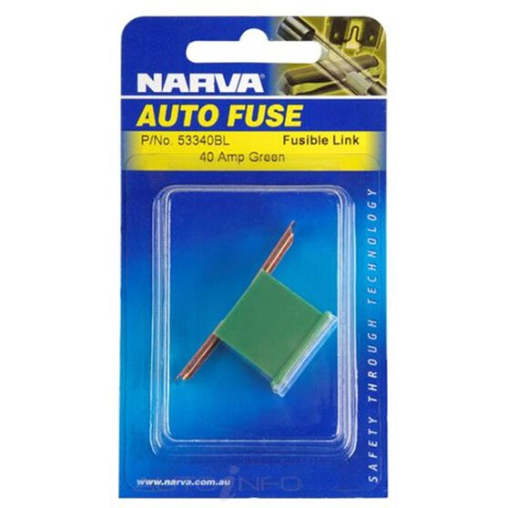 FUSE LINK L SHORT 40A GREEN, , scanz_hi-res