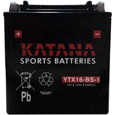 YTX16-BS-1 Katana Motorcycle Battery, , scanz_hi-res