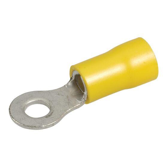 TERMINAL RING YELLOW 4.3mm