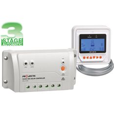 SOLAR CONTROLLER 12/24V 20A WITH REMOTE