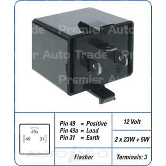 3PIN FLASHER MB-338226, , scanz_hi-res