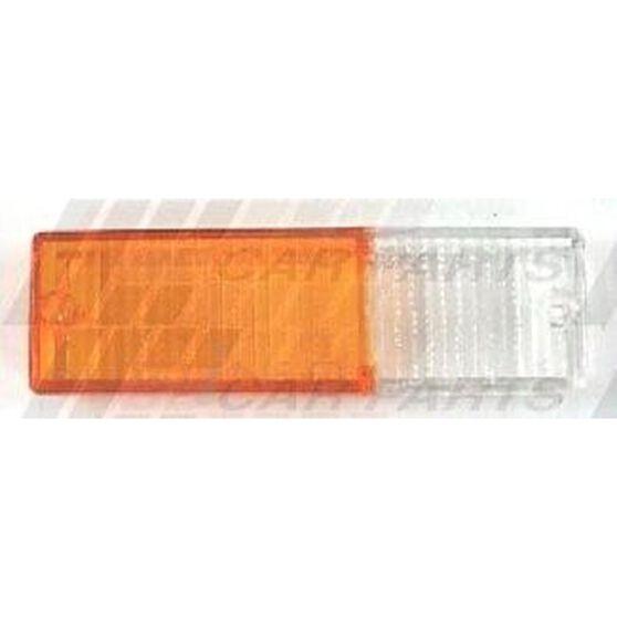 BUMPER LAMP - LENS - L/H - AMB/CLR, , scanz_hi-res