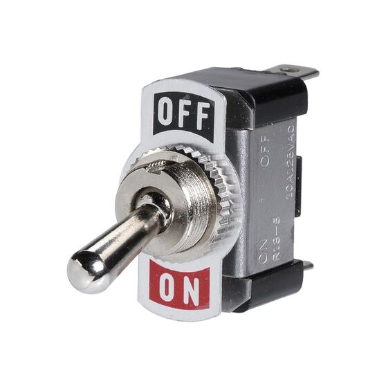 OFF/ON METAL TOGGLE SWITCH