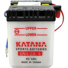 6N4-2A-4 Katana Motorcycle Battery, , scanz_hi-res