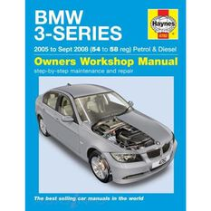 BMW 3 SERIES E90  E 91 2005-2008 (UK)