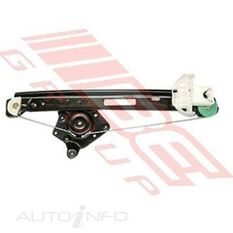 WINDOW REGULATOR - REAR - R/H - W/O MOTOR
