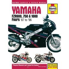 YAMAHA FZR600, 750 AND 1000 FOURS 1987 -, , scanz_hi-res