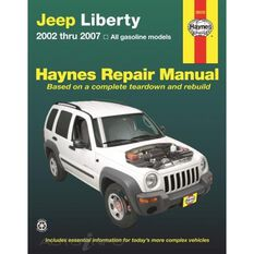 JEEP LIBERTY HAYNES REPAIR MANUAL COVERING ALL MODELS 2002 THRU 2012 (DOES NOT INCLUDE INFORMATION SPECIFIC TO DIESEL MODELS)