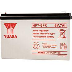 NP7-6FR Yuasa NP VRLA Battery