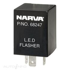 FLASHER 12V 3PIN LED TYPE 2, , scanz_hi-res