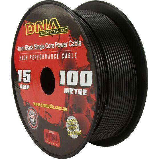 DNA CABLE 15 GAUGE SINGLE CORE CABLE BLACK 100MTR, , scanz_hi-res