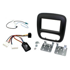 FACIA DOUBLE DIN INSTALL KIT RENAULT, , scanz_hi-res