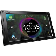 "JVC DUAL DIN MECHLESS AV RECEIVER 6.8"" SCREEN WIRELESS CARPLAY ANDROID AUTO, , scanz_hi-res"