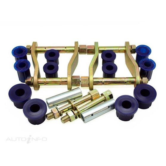 HOL COLORADO/D-MAX 12- GREASEABLE REAR SHACKLE KIT, , scanz_hi-res
