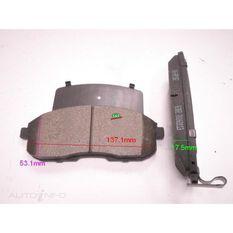 D430-7318=FMSI for Royale Brake Set  F  Nissan Maxima 89-