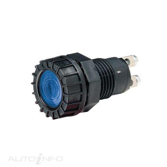 PILOT LAMP 12V C/GLOBE BLUE, , scanz_hi-res