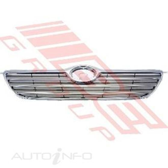 GRILLE - CHROME SILVER GREY, , scanz_hi-res