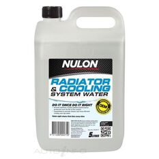 RADIATOR & COOLING SYSTEM WATER
