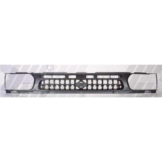 GRILLE - CHROME/GREY