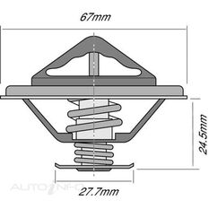 TRIDON THERMOSTAT BLISTERED (HIGH FLOW), , scanz_hi-res