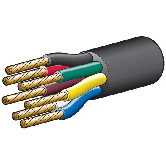 CABLE 7 CORE 19AMP 3MM 100M