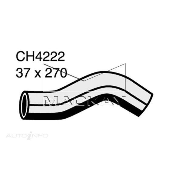 RADIATOR UPPER HOSE  - TOYOTA LANDCRUISER KZJ95R - 3.0L I4 TURBO DIESEL - MANUAL & AUTO, , scanz_hi-res