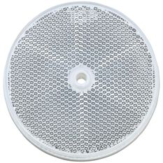 REFLECTOR CLEAR 84mm WITH HOLE, , scanz_hi-res