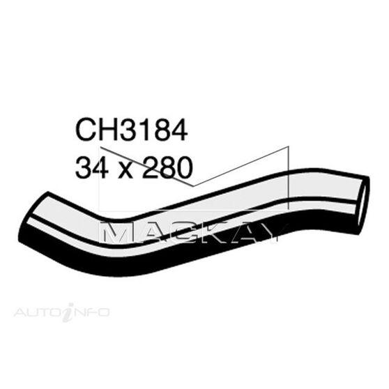 RADIATOR UPPER HOSE  - NISSAN VANETTE C22 - 2.0L I4  PETROL - MANUAL & AUTO, , scanz_hi-res
