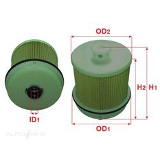 FUEL FILTER 2 MICRON REPLACES, , scanz_hi-res