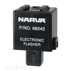 FLASHER ELEC 12V 3 PIN 7MM