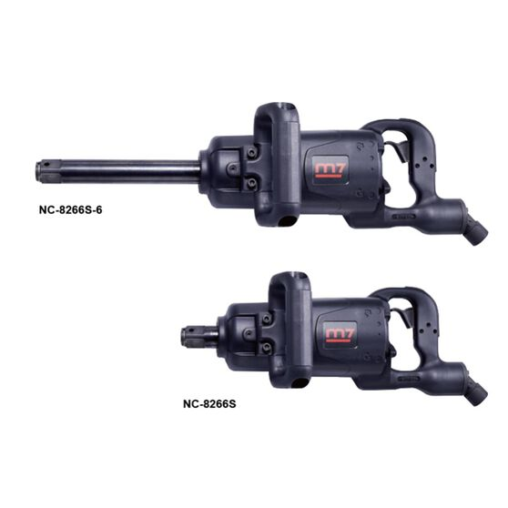 """M7 AIR IMPACT WRENCH 1"""" DRIVE TWIN HAMMER 6"""" ANVIL 2300FT, , scanz_hi-res"""