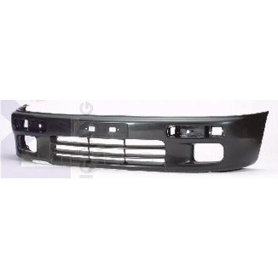 FRONT BUMPER - BLACK - W/FOG HOLE, , scanz_hi-res
