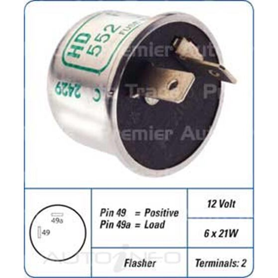 12V 2 PIN FLASHER CAN., , scanz_hi-res