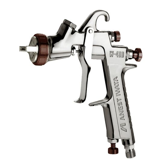 IWATA GRAVITY SPRAYGUN W400 BELL ARIA 1.8MM GUN ONLY, , scanz_hi-res