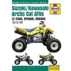 SUZUKI/KAWASAKI ARCTIC CAT ATVS 2003 - 2, , scanz_hi-res