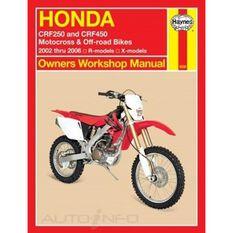 HONDA CRF250 & CRF450 2002 - 2006, , scanz_hi-res