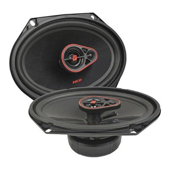 """CERWIN VEGA HED 6X8"""" 3 WAY COAXIAL SPEAKERS PAIR 360W NOGRIL, , scanz_hi-res"""