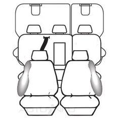 TOYOTA KLUGER GSU50R WAGON GX / GXL / GRANDE 03/2014 - ON ESTEEM BLACK DEPLOY SAFE, , scanz_hi-res
