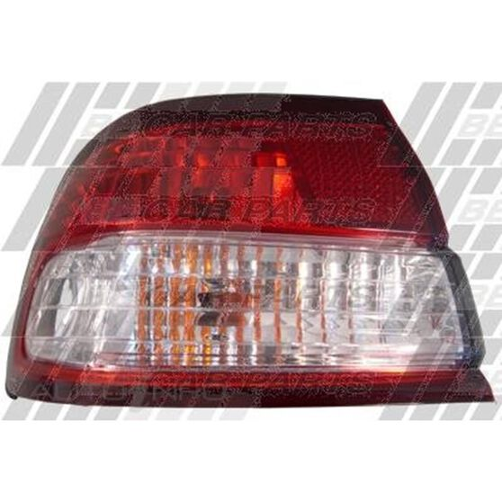REAR LAMP - L/H - RED/CLEAR