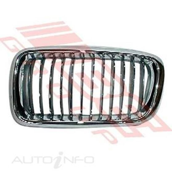GRILLE - CHRM/CHRM/BLK - R/H