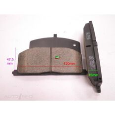 D242-7153=FMSI for Royale Brake Set  F  Toyota Corolla, Celica, Caldina