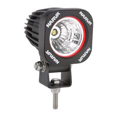 W/LAMP 1X10W LED SQR FLOOD, , scanz_hi-res