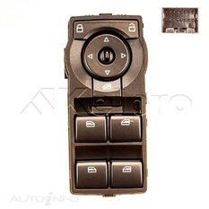 WINDOW SWITCH CENTRE CONSOLE - 4 SWITCH UNIT HOLDEN, , scanz_hi-res