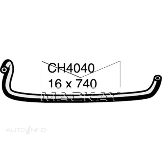 RADIATOR HOSE MISC  - HOLDEN RODEO TF - 2.5L I4  DIESEL - MANUAL & AUTO, , scanz_hi-res