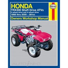 HONDA TRX300 SHAFT DRIVE ATVS 1988 - 200, , scanz_hi-res