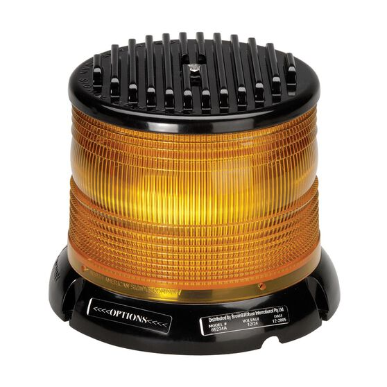 STROBE AMBER 4 PATT LED 12/24V, , scanz_hi-res