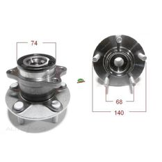 Mitsubishi Outlander 08-12 Rear wheel hub, , scanz_hi-res