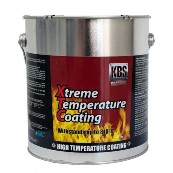 KBS XTC XTREME TEMP COATING ALUMINIUM 4 LITRE, , scanz_hi-res