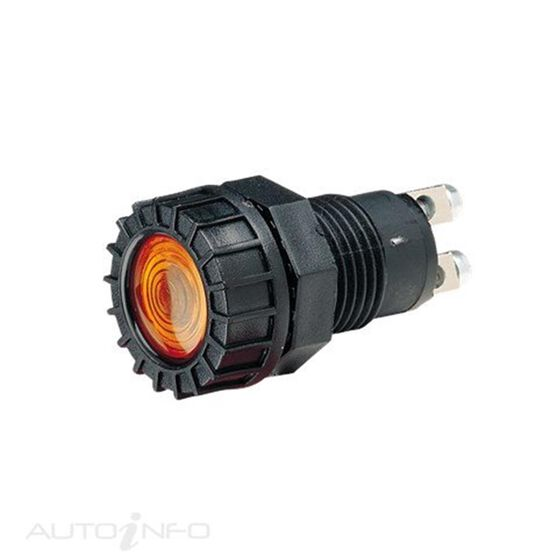 PILOT LAMP 12V C/GLOBE AMBER, , scanz_hi-res