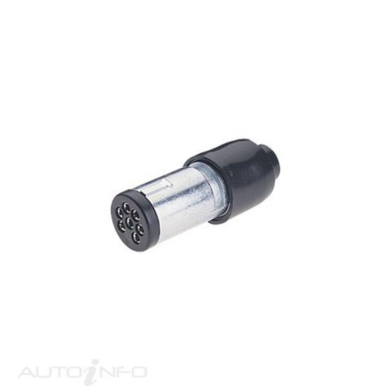 PLUG 7 PIN SMALL ROUND METAL PK20, , scanz_hi-res